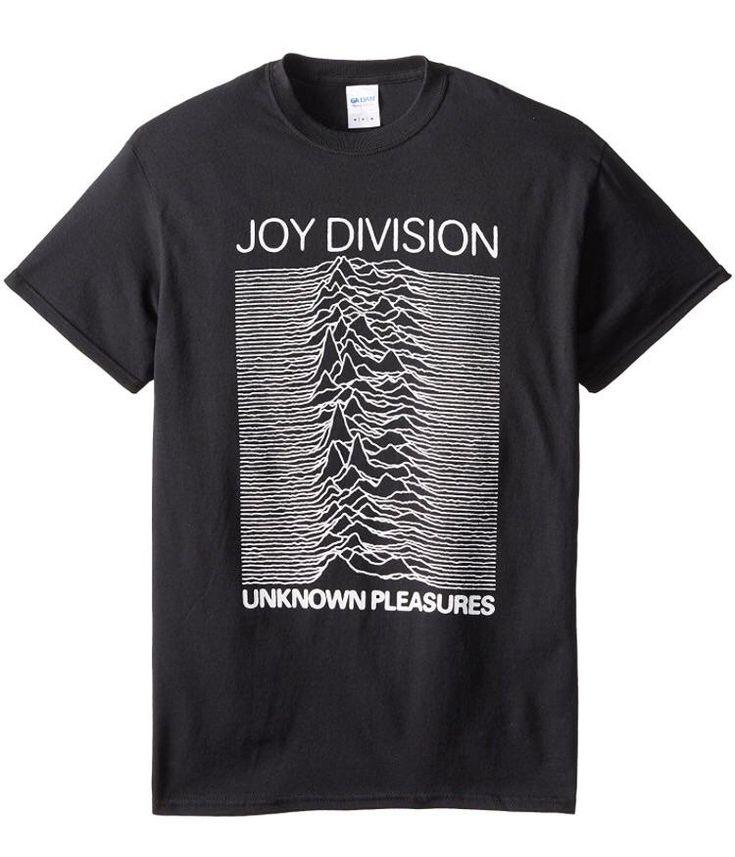 Joy Division Unknown Pleasures Men's T-shirt, Black