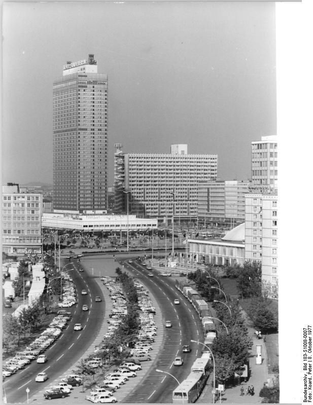 Hotel Stadt Berlin Oktober 1972