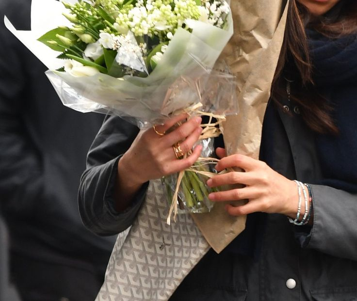 This Isn't an Engagement Ring From Prince Harry on Meghan Markle, but It's Pretty Close