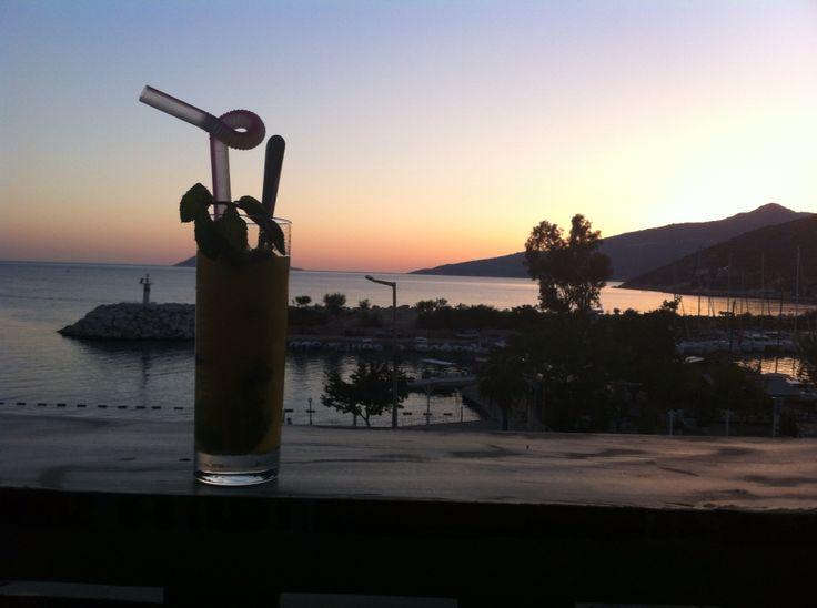 Gin o'clock Kalkan, Turkey