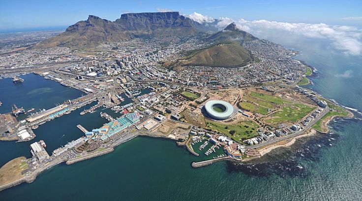 Cape Town. Home country... Enough said.