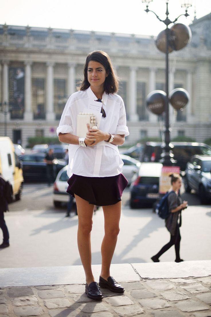 Leandra Medine's simple look