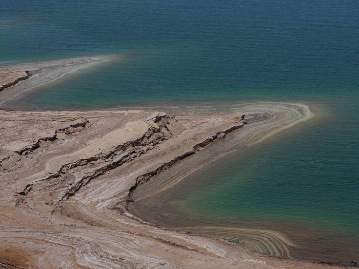 Photo Mer Morte - La Mer Morte et l'action du sel qui grignote peu à peu la roche - GEO communauté photo