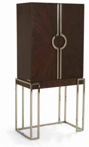 How cool is this bar cabinet?
