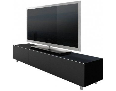 "Just Racks Black TV Cabinet for up to 65"" TVs"