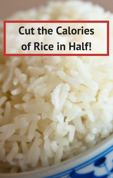 Dr Oz shared a great tip for cutting the calories of your rice in half without losing any of the flavor! If you're looking to save calories in order to lose weight, this is one trick you have to try!