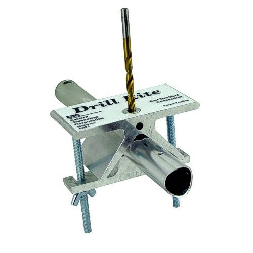 Round Tube Drilling Jigs, Drill-Rite, Center-It, Drill Holes in Tubing