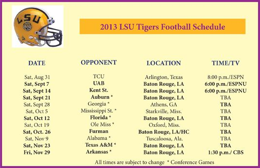 lsu football 2013 pictures - Google Search