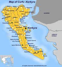 map of corfu....