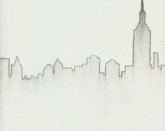 Blatt Bleistift Zeichnung Download von TheGoldGoose auf Etsy