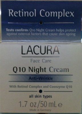 LaCura Q10 NIGHT FACE CREAM Anti-Wrinkle 1.7 oz. - For Sale Check more at http://shipperscentral.com/wp/product/lacura-q10-night-face-cream-anti-wrinkle-1-7-oz-for-sale/