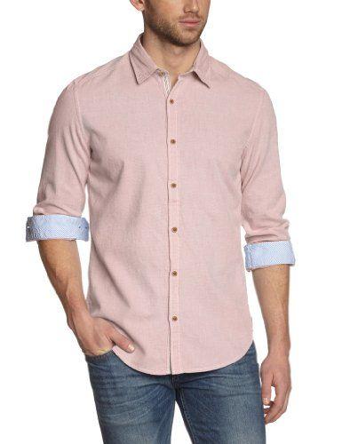 MEXX Herren Regular Fit Freizeithemd 14bsz109 Shirt L/Slv Slim Solid