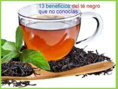 13 Beneficios del té negro que no conocías y crema de yodo para abdomen