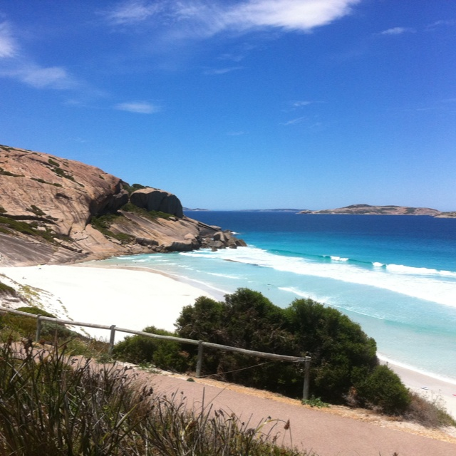 West Beach, Esperance wa, and to think I use to live here.