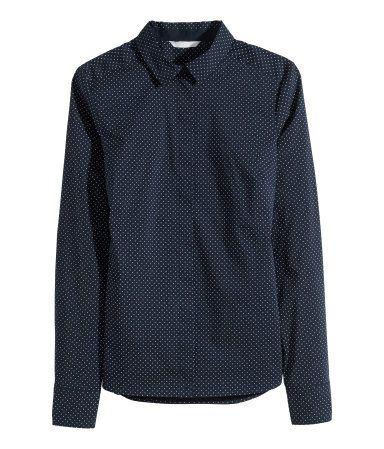 H&M Stretch shirt $19.95