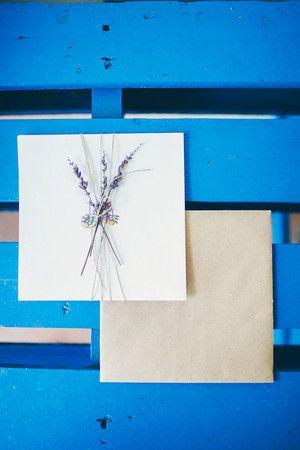 Lavender Invitations