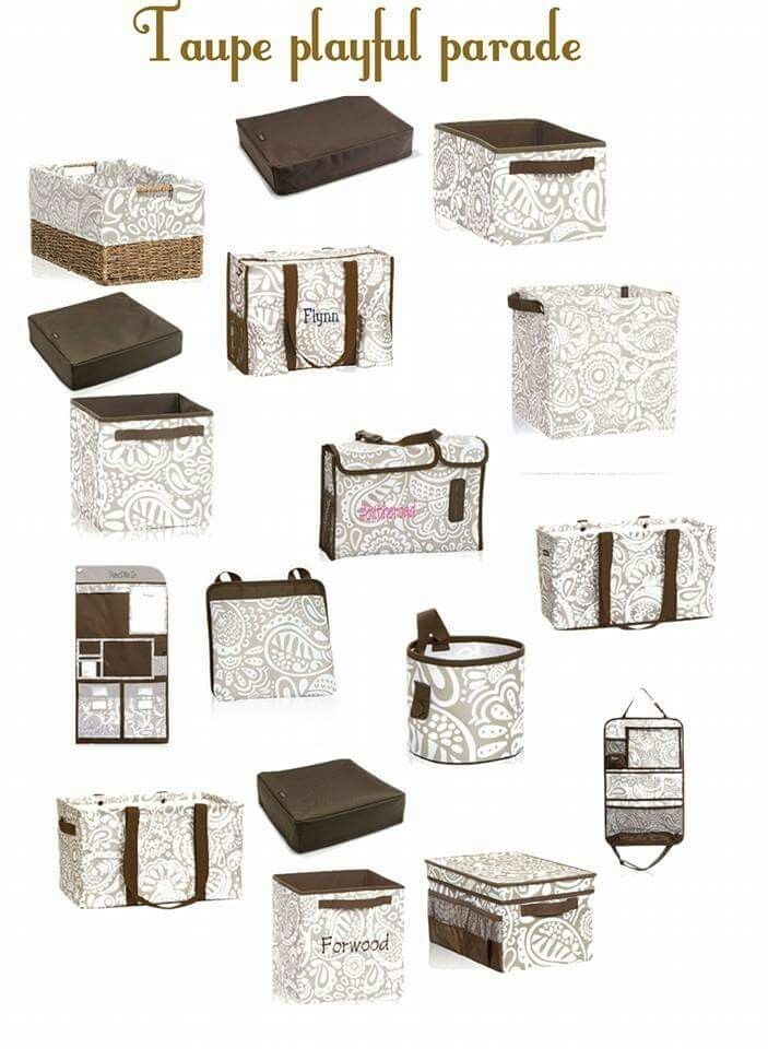 Taupe Playful Parade Collection http://www.thirtyone.com/mrife