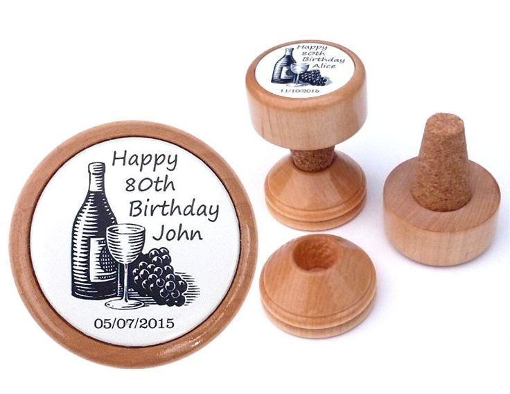 80th birthday present | Personalised wine stopper | 80th Birthday gift for him | 80 year old| 80th birthday gift idea | For men | 80 th | by WineStopperGifts on Etsy