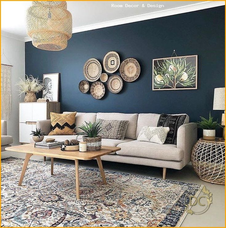 Living Room Feature Wall Ideas 2020