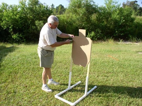 Homemade Target Stand Possible Zombie Targets