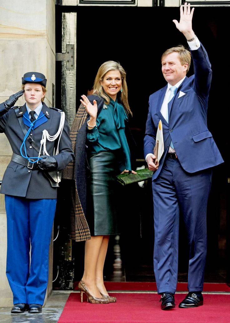 The Royal Watcher Queen Maxima and King Willem - Alexander of the Netherlands