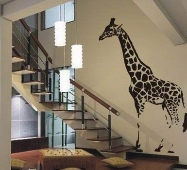 Try wall decals! - probably the coolest thing I've ever seen! HAVE TO HAVE IT!
