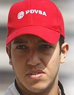 Caterham Racing driver Rodolfo Gonzalez