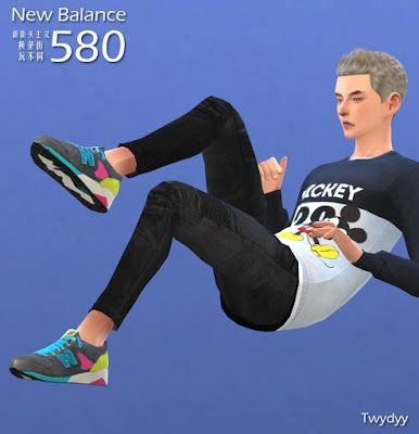 My Sims 4 Blog: Shoes - Sneakers