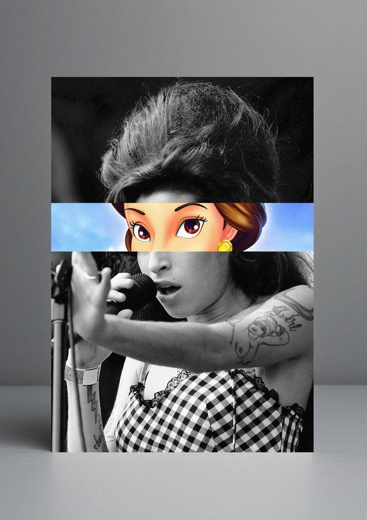 O artista português Rui Pinho  é inspirado pela cultura pop. Eles removeu os olhos de celebridades como Michael Jackson, Marilyn Monroe ou S...