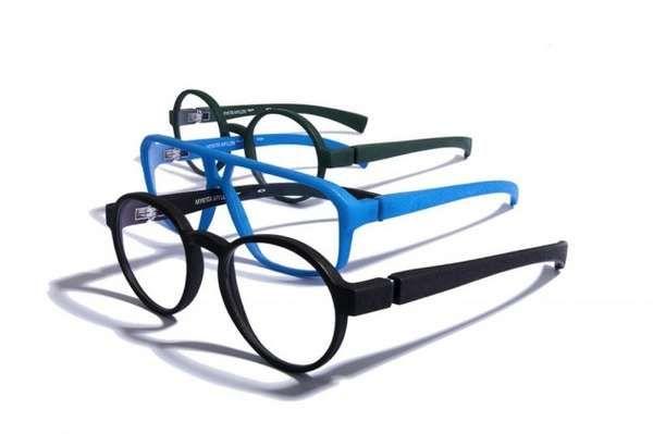 MYKITA MYLON Optical Glasses Come in Bold Retro Designs #sunglasses trendhunter.com