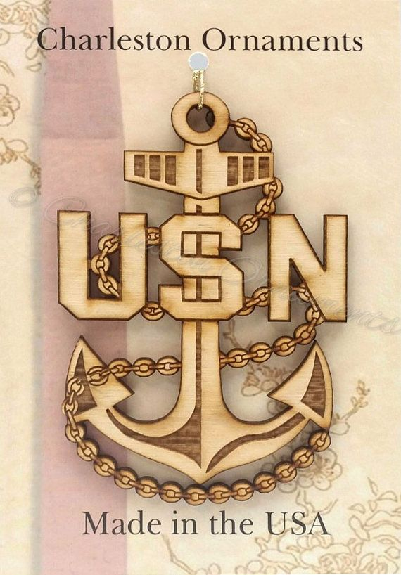 Navy Chief Petty Officer Ornament - CPO Ornaments - Chief Petty Officer Gifts - Chief Petty Officer Gift