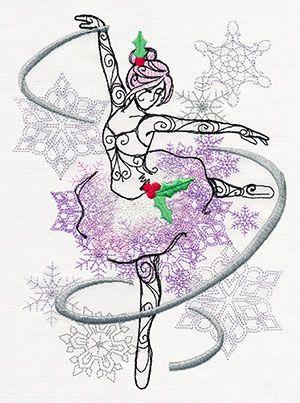 Sugar Plum - Sugar Plum Fairy design (UT8943) from UrbanThreads.com
