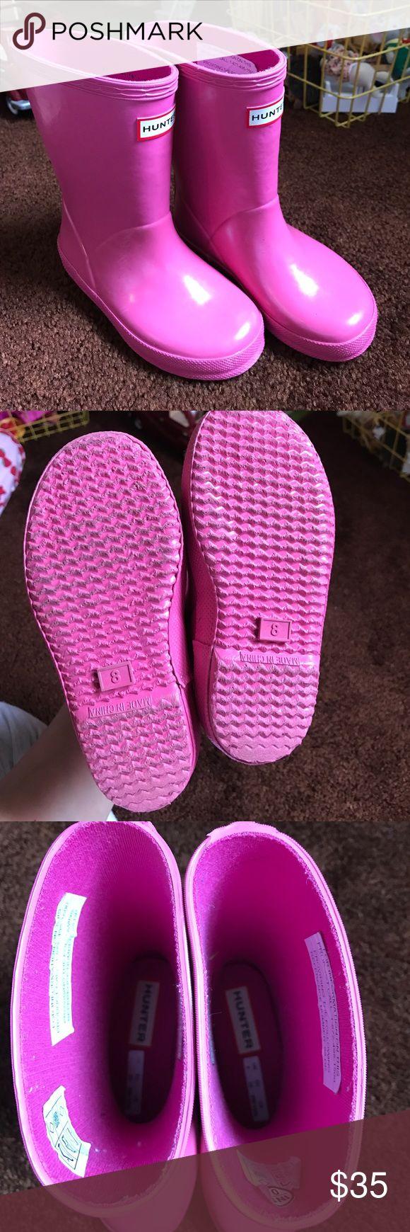 EUC toddler girl Hunter Boots! Size US 9 / UK 8 EUC toddler girl Hunter Boots! Size US 9 / UK 8 Hunter Boots Shoes Rain & Snow Boots
