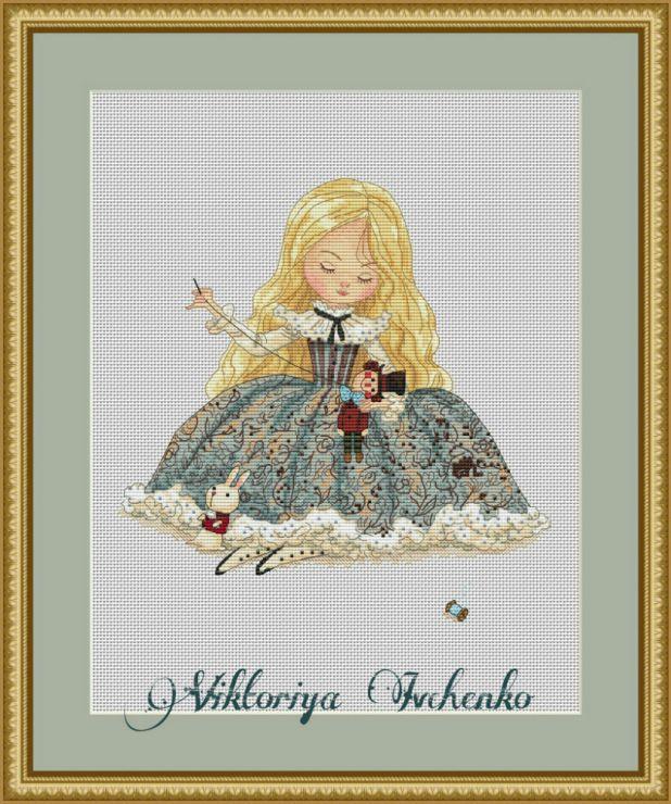 Gallery.ru / Алиса с игрушками - Платные схемы - IvchenkoV