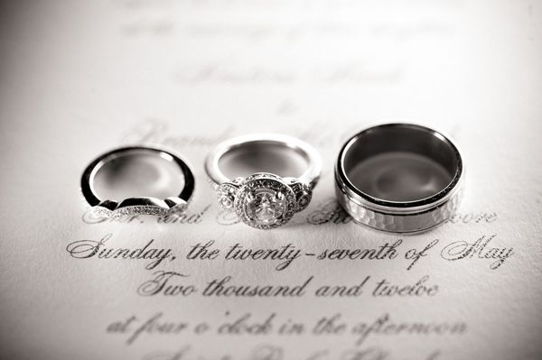 love this ring that is shot on the invitation