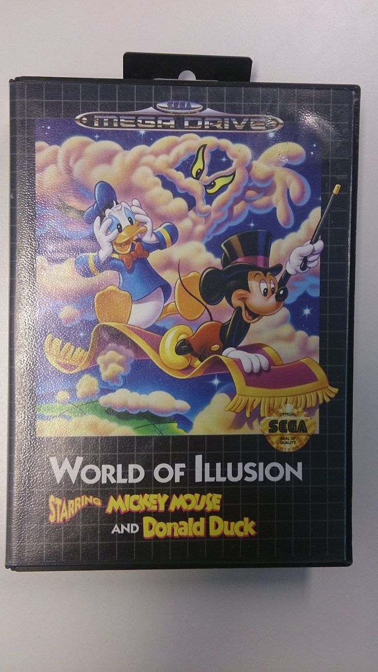 World of Illusion starring Mickey Mouse and Donald Duck Jeu Megadrive plet Version Pal