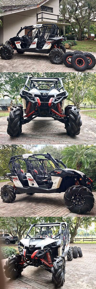 Power Sports ATVs UTVs: Can Am Maverick 1000R Max 4 Person Utv Atv Side By Side Not Razor, 600Miles 4X4 BUY IT NOW ONLY: $16500.0