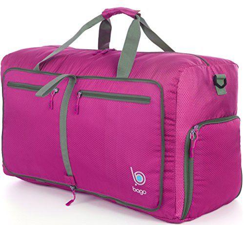 Bago Travel Duffel Bag For Women & Men Foldable Duffle For Luggage Gym Sports Medium 23