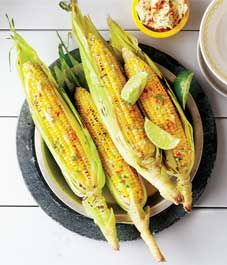 Recipe: Corn on the cob with chili lime butter