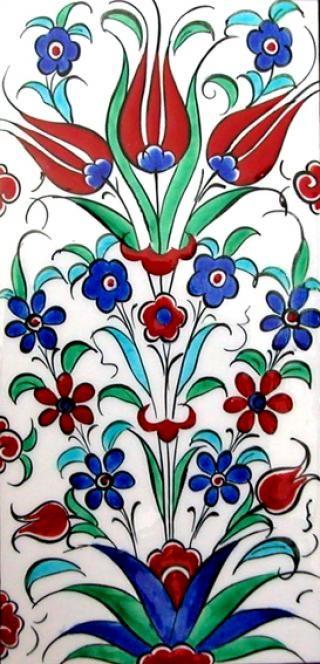 Iznik Turkish Tile