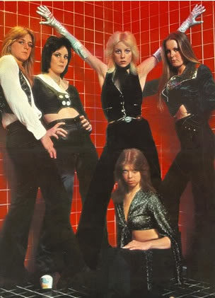 The Runaways! Hey, they're the ones who beat me up & stole my lunch money!!