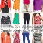 Plus Size Capsule Wardrobe – Business Casual with Color