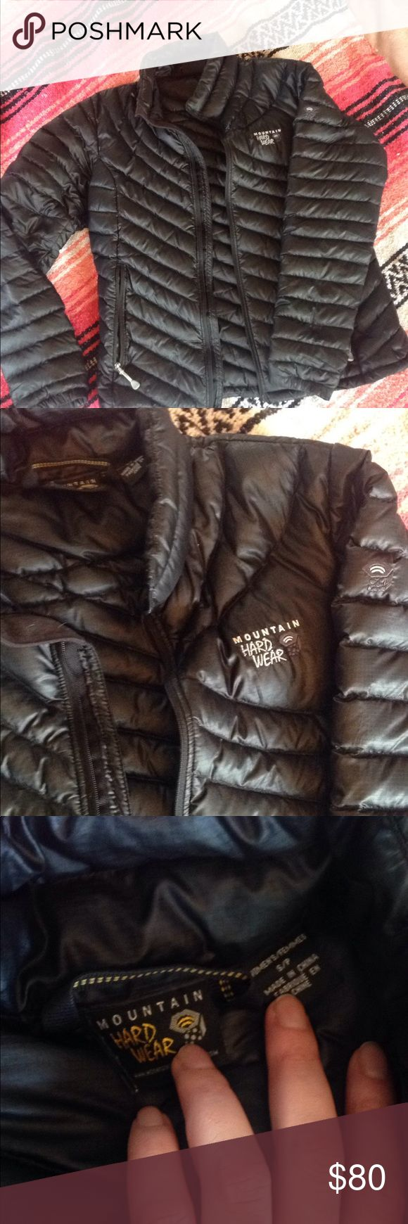 Mountain Hardwear down jacket small Excellent condition size small Mountain Hardwear down jacket. Very warm and perfect to wear alone or for layering. Mountain Hardwear Jackets & Coats