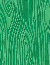 vormleer - hout structuur groen