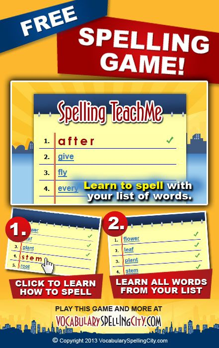 39 best spelling lessons images on pinterest vocabulary games spelling and homeschool. Black Bedroom Furniture Sets. Home Design Ideas