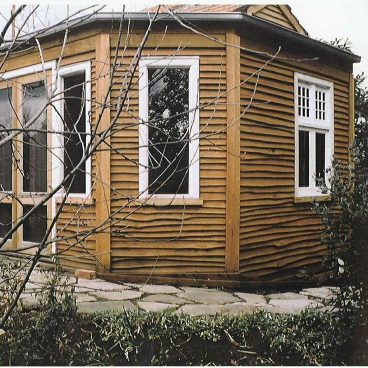 Timber clad room
