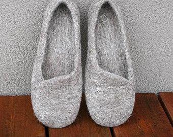 Damen Hausschuhe Schuhe für Frauen-Haus Filz von Kadabros auf Etsy