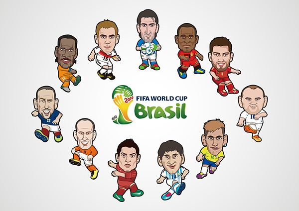 The World Cup on Behance