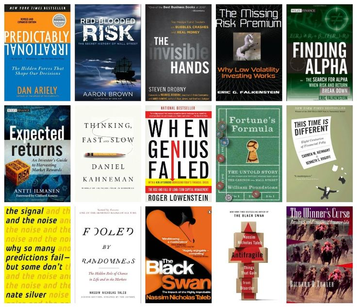 Hedge fund exec's must read list.