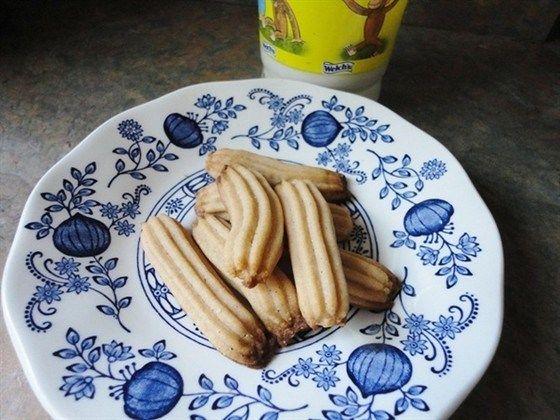 Ванильное печенье со сливочным сыром